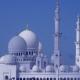 Anfahrt zur Sheikh Zayed Mosque