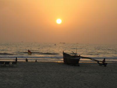 Goa: Abendstimmung