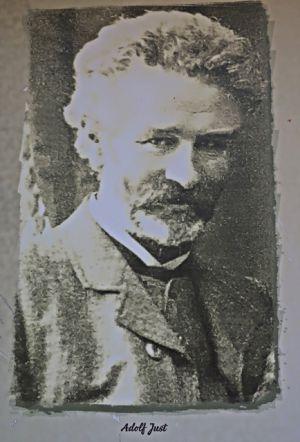 Adolf Just - Mitbegründer des ersten deutschen Kurheims