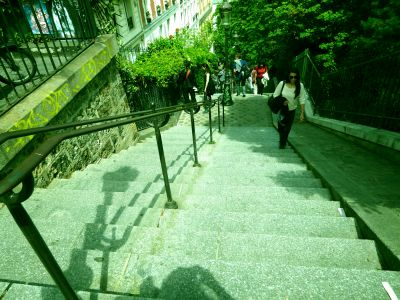 Aufgang Montmartre
