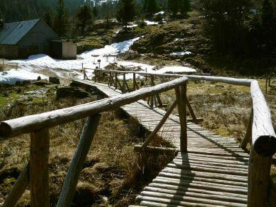 Bergseewanderung: Zurück am Lac du Forlet