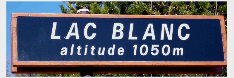 Bergseewanderung: Lac Blanc