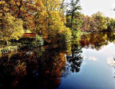 Am Park von Schloss Richmond