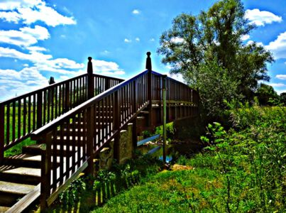 Brücke an der Schunter