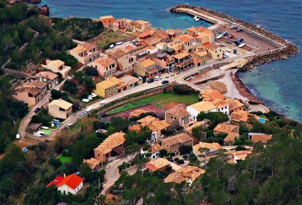 Der Hafen von Valldemossa