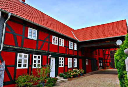 Gutshof in Klein Lafferde