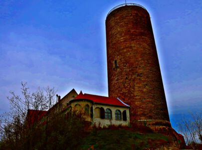 Der Bergfried der Camburg