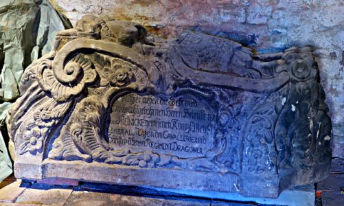 Sarkophage im Kloster Ilsenburg