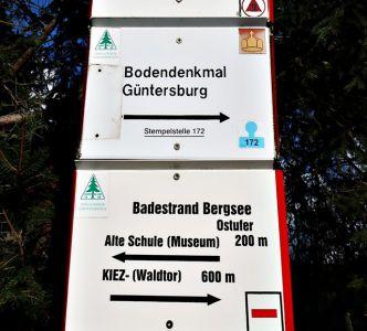 Güntersberge Bergsee