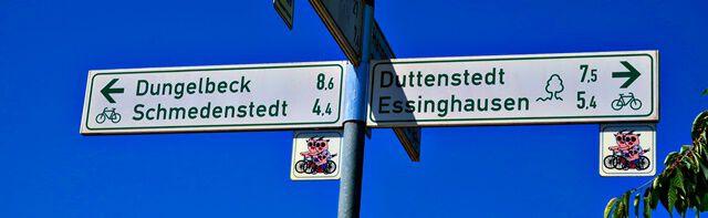 Fahrradwege im Braunschweiger Land