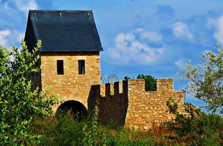 Kernburg der Kaiserpfalz Werla