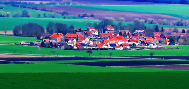 Blick vom Heeseberg