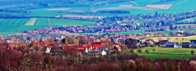 Blick auf das Hildesheimer Umland