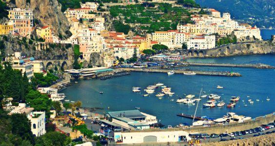 Bomerano: Wanderung von San Lazzaro nach Amalfi