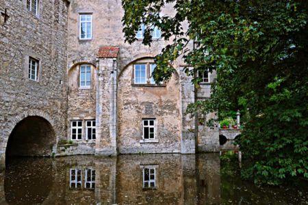Die Rückseite des Schlosses