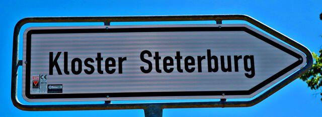 Wegweiser zum Kloster Steterburg