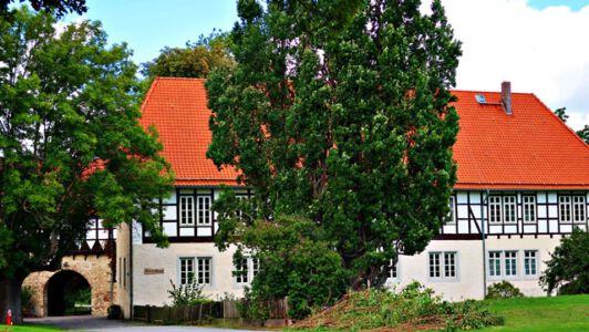 Das Herrenhaus der Wasserburg