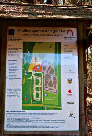 Findlingsgarten Königslutter