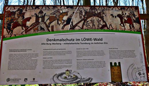 Ruine Burg Warberg