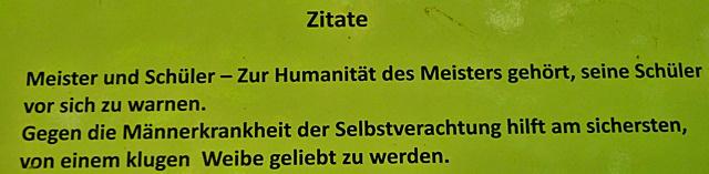 Burgruine Grillenberg - Nietzsche
