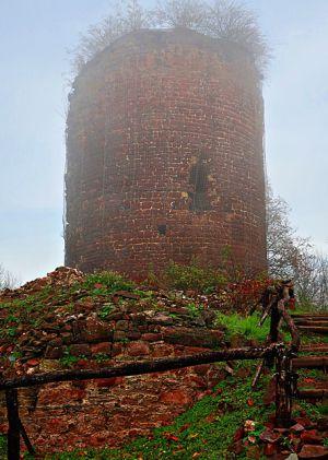 Der Turm der Ebersburg