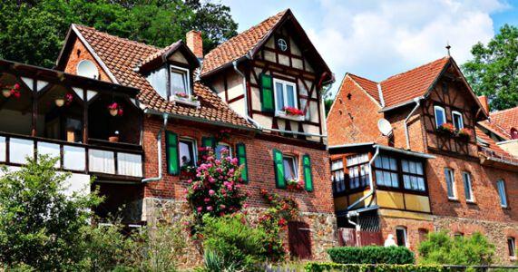 Fachwerkhäuser in Gernrode