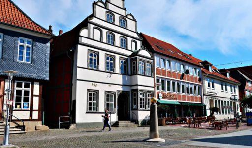 Die Innenstadt von Gifhorn