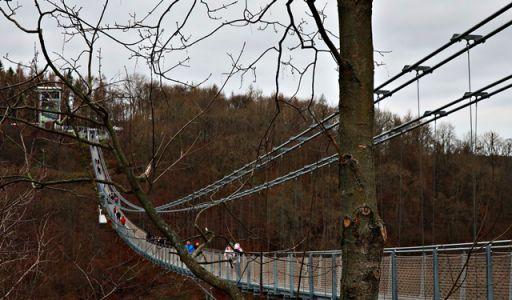 Hängeseilbrücke Rappbodetal