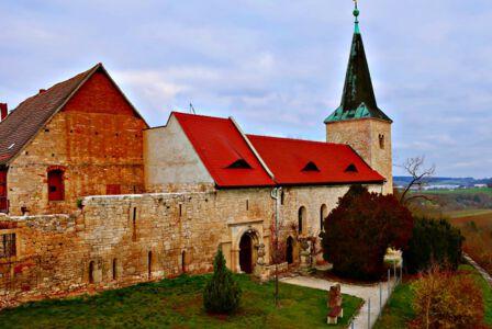 Die Klosterkirche von Zscheiplitz