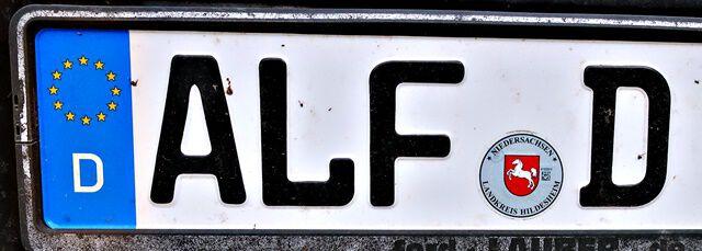 Hier wohnt Alf!