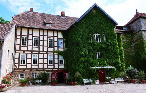 Innenhof Wasserschloss Veltheim