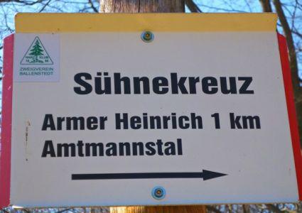 Armer Heinrich - Sühnekreuz