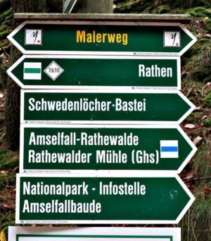Rundwanderung Kurort Rathen - Bastei - Kurort Rathen