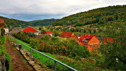 Weg zur Festung Königstein