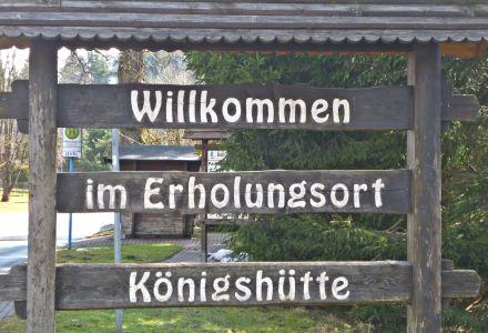 Ortseingang Königshütte