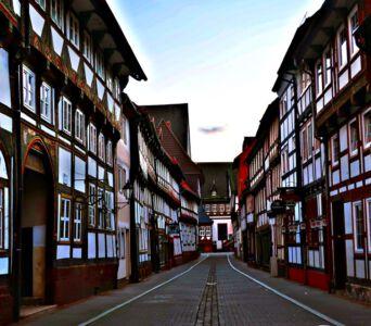 Gasse in Einbeck