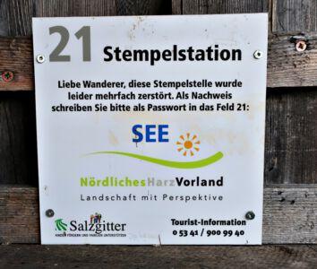 Stempelstation 21 Heerter See