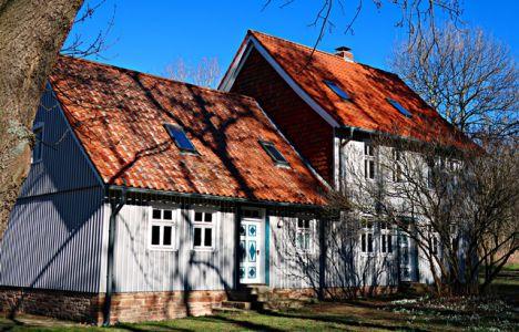 Häuschen an der ehemaligen Heerstraße bei Abbenrode