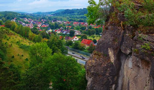 Blick auf Scharzfeld