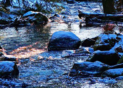 Bodewasserfall bei Braunlage