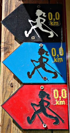 Nordic Walking Strecken bei Gernrode