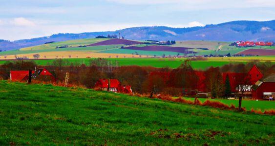 Landschaft bei Bilderlahe