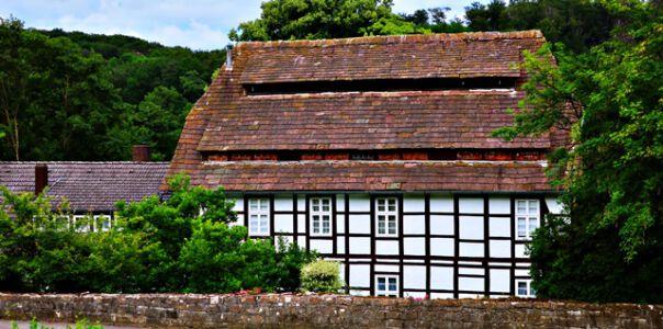 Die historische Papiermühle in Lauenstein