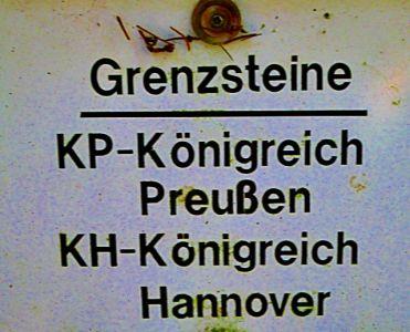 Grenzsteine Hannover-Preußen