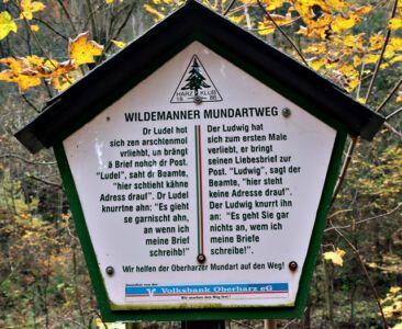 Wildemanner Mundartweg
