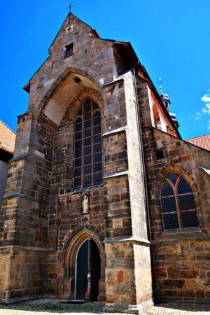 Das Portal der Klosterkirche