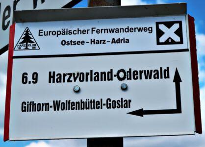 Ostsee-Harz-Adria Fernwanderweg