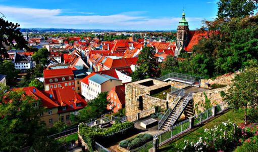 Blick auf die Stadt Pirna