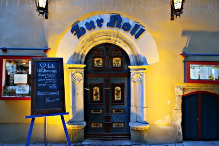 """Hotel und Gaststätte """"zur Noll"""" in Jena"""