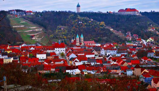 Blick auf Freyburg